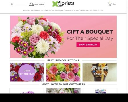 FLORISTS.COM:  guarantees the lowest prices on beautiful cheap flowers and gifts, from fruit and gift baskets, to same-day flower delivery by a local florist.