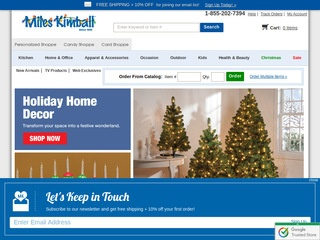 MILESKIMBALL.COM: In-stock Kitchen, Home, Outdoor & Seasonal Items. Browse our sales items & save today.