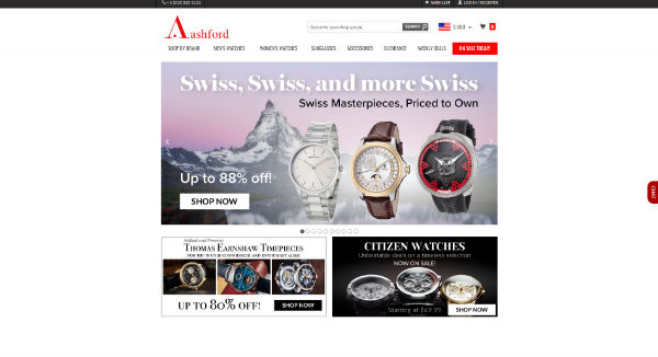 ASHFORD: Shop luxury watches for men and women at Ashford.com. All high end watches are listed with discount pricing and come with a 2 yr. warranty .