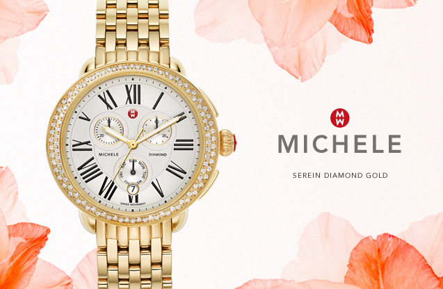 MICHELE WATCHES: MICHELE Watches: Bold & Feminine For The Unapologetic Woman. Created for women, by women, MICHELE watches give you elevated luxury that works with …