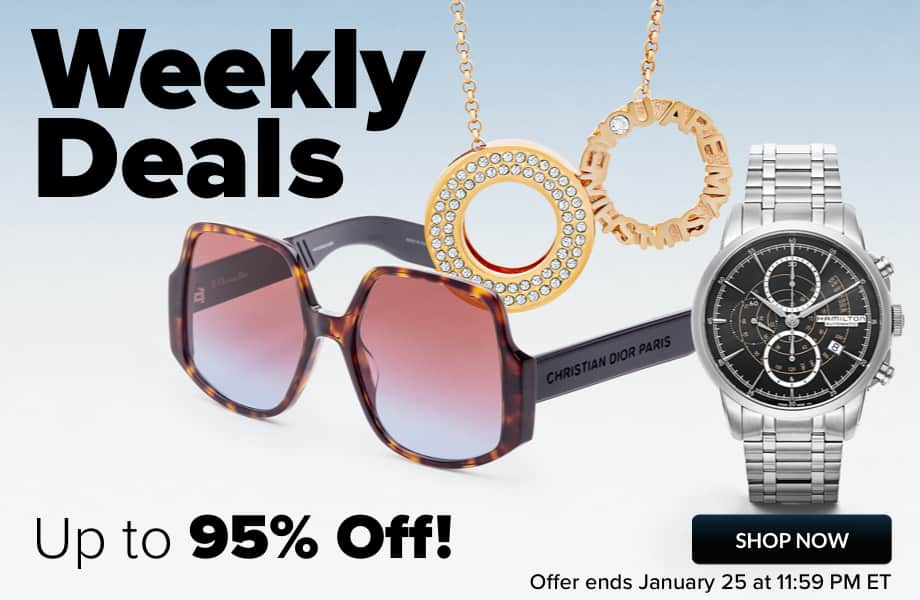 ASHFORD: Weekly Deals Up to 95% off.