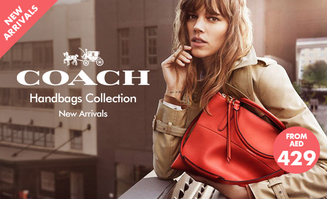COACH: Shop New Arrivals Up To 70% Off .
