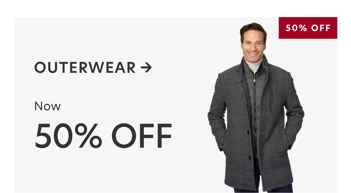 PAUL FREDRICK: 40% Off Select Styles + 50% Off Select Outerwear And Accessories.