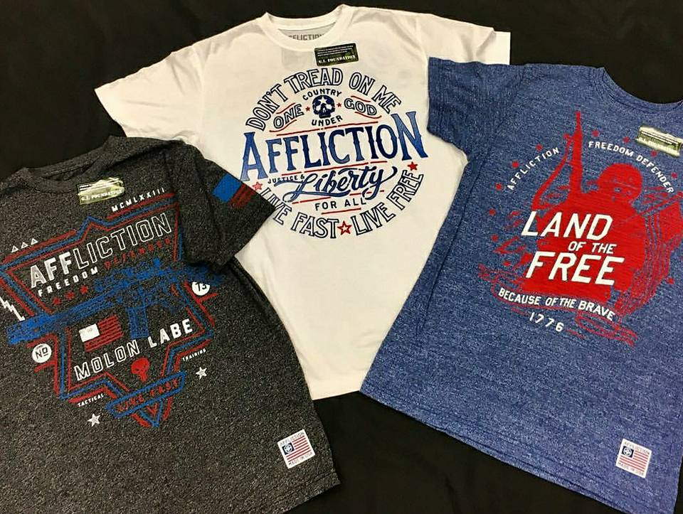 AFFLICTION CLOTHING: Clothing made for men & women who ENDURE, CREATE, & CHALLENGE