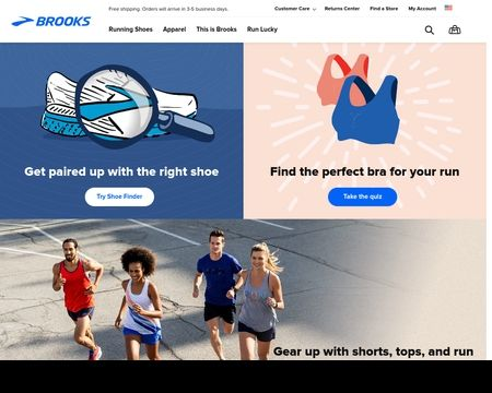 BROOKS RUNNING: Shop superior running shoes and apparel for men and women with free shipping and returns.