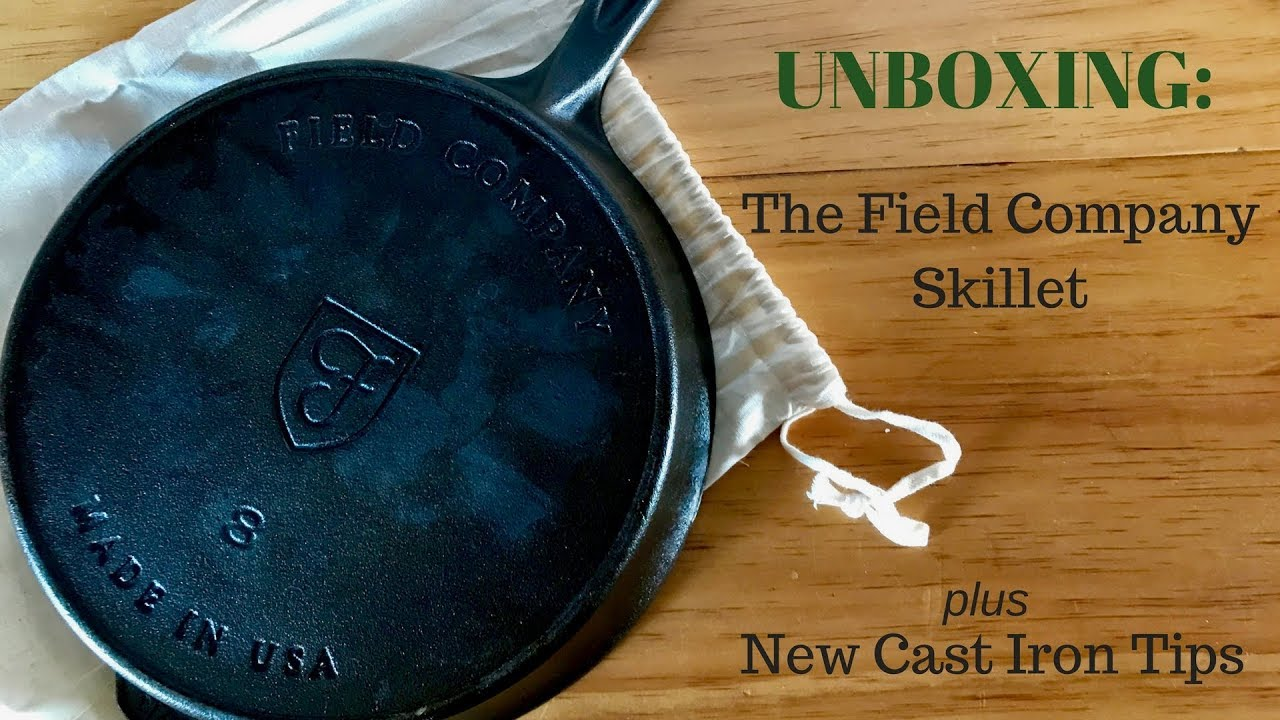 FIELD COMPANY: The Field Company manufactures and sells smoother, lighter cast iron skillets reminiscent of the greatest vintage pans. Made in America.