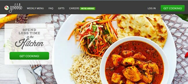 GOBBLE: Fresh Meal Delivery – Get $80 Off Your Order Today