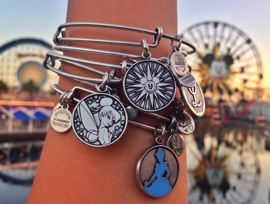 ALEX AND ANI: We design + create charm bangles, bracelets, necklaces, earrings + rings, that adorn the body, enlighten the mind + empower the spirit. Start stacking!