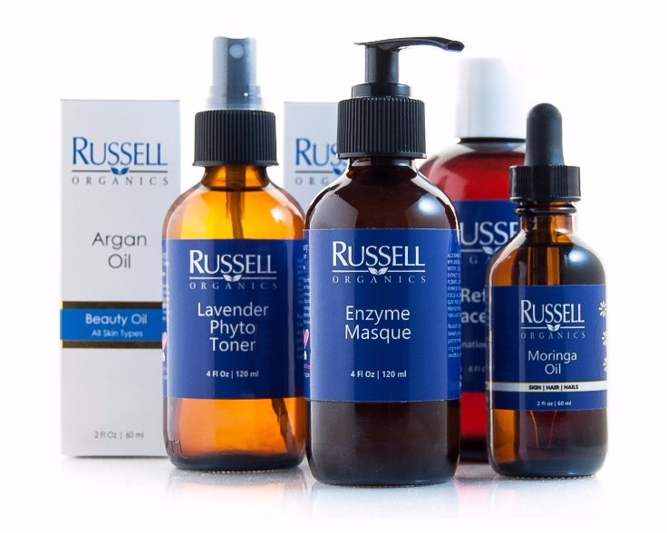 RUSSELL ORGANICS, LLC: Russell Organics manufactures prestige natural skin care products that are sold globally in the finest beauty retailers.