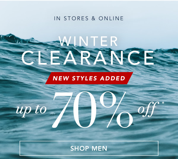 NAUTICA: Wear-now styles up to 70% off