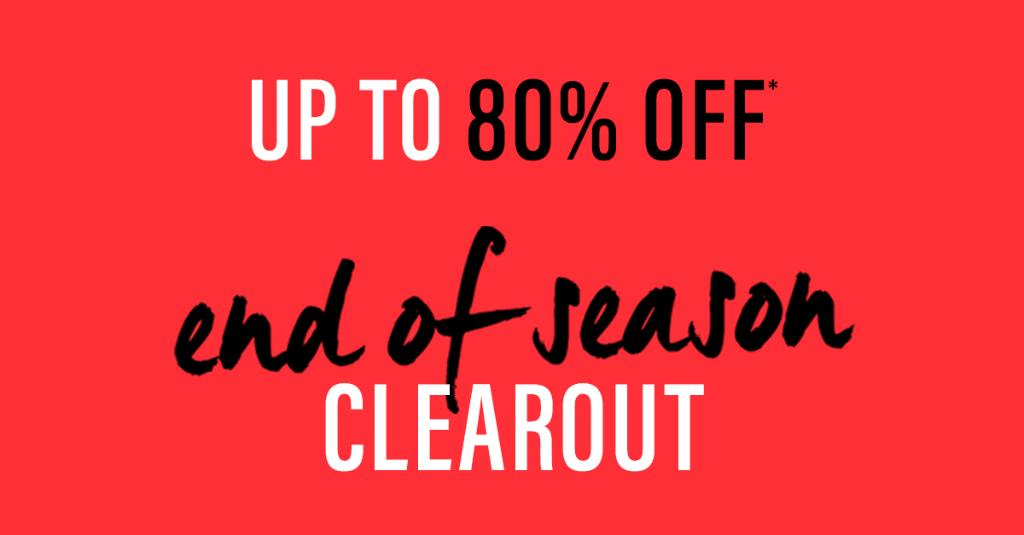 SAKS OFF 5TH: End of Season Clearout – Up to 80% off