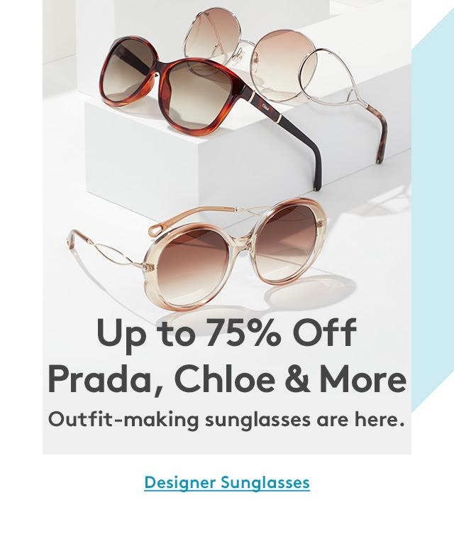 Nordstrom: Up to 75% off designer sunglasses Prada, Chloe, and More…