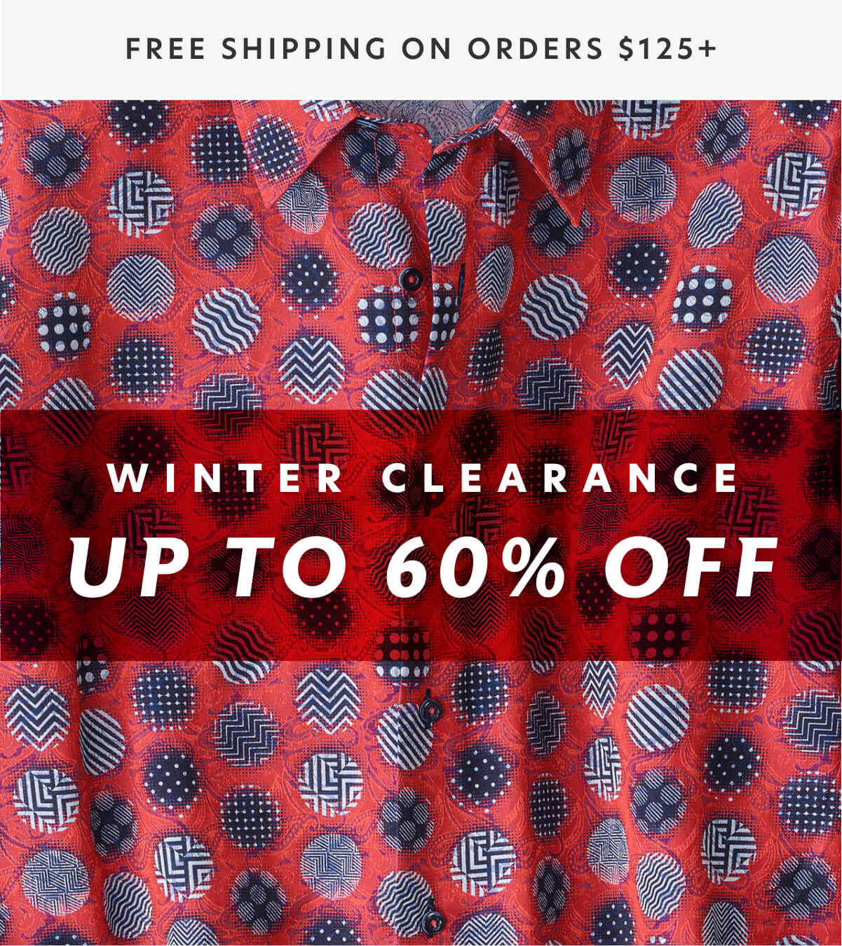 Paul Fredrick: Up to 60% off our winter classics