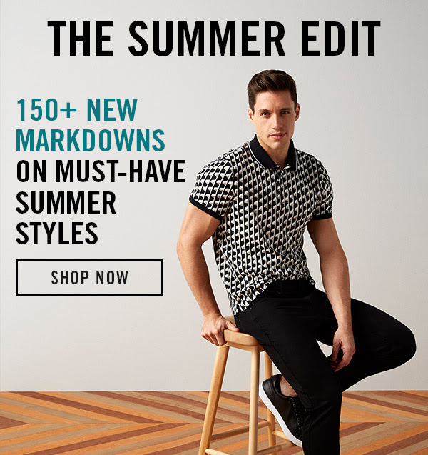 Perry Ellis: The Summer Edit: 150+ New Markdowns