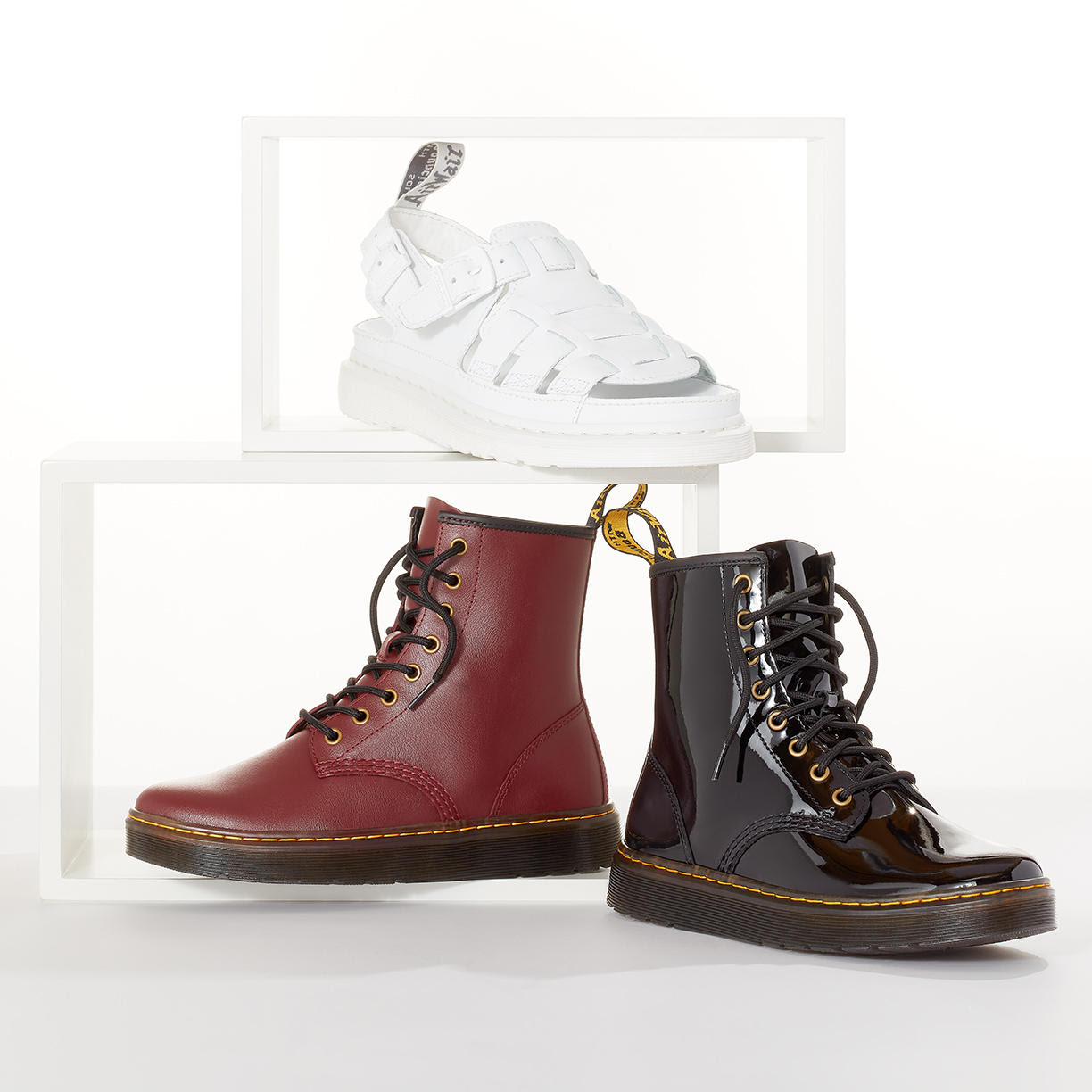 Nordstrom Rack: Dr. Martens Women's Shoes | Reiss Up to 70% Off | Make a Splash: Waterproof Shoes for Her Up to 60% Off | Summer Luggage Under $100 | And more on sale now!