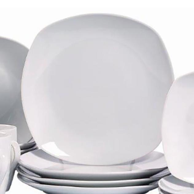 J.C Penney: 16-Piece Porcelain Dinnerware Set  $16.24