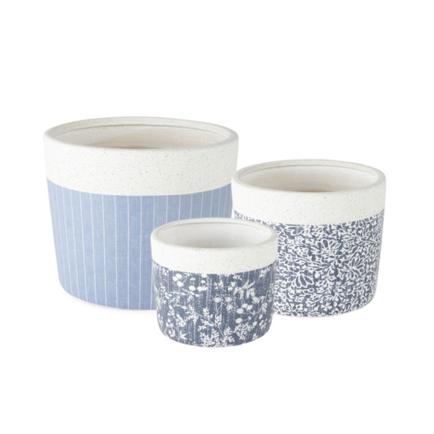 Linden Street Speckled Stone Planter Collection $4.79