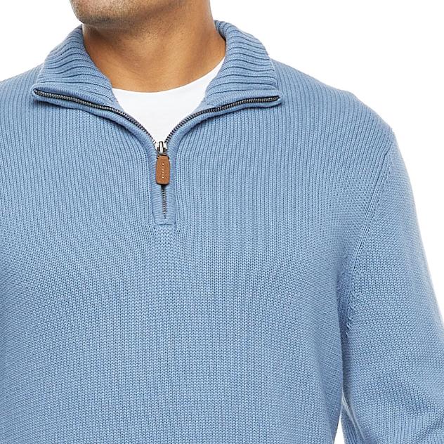 St. John's Bay Mens Long Sleeve Quarter-Zip Pullover $21.00