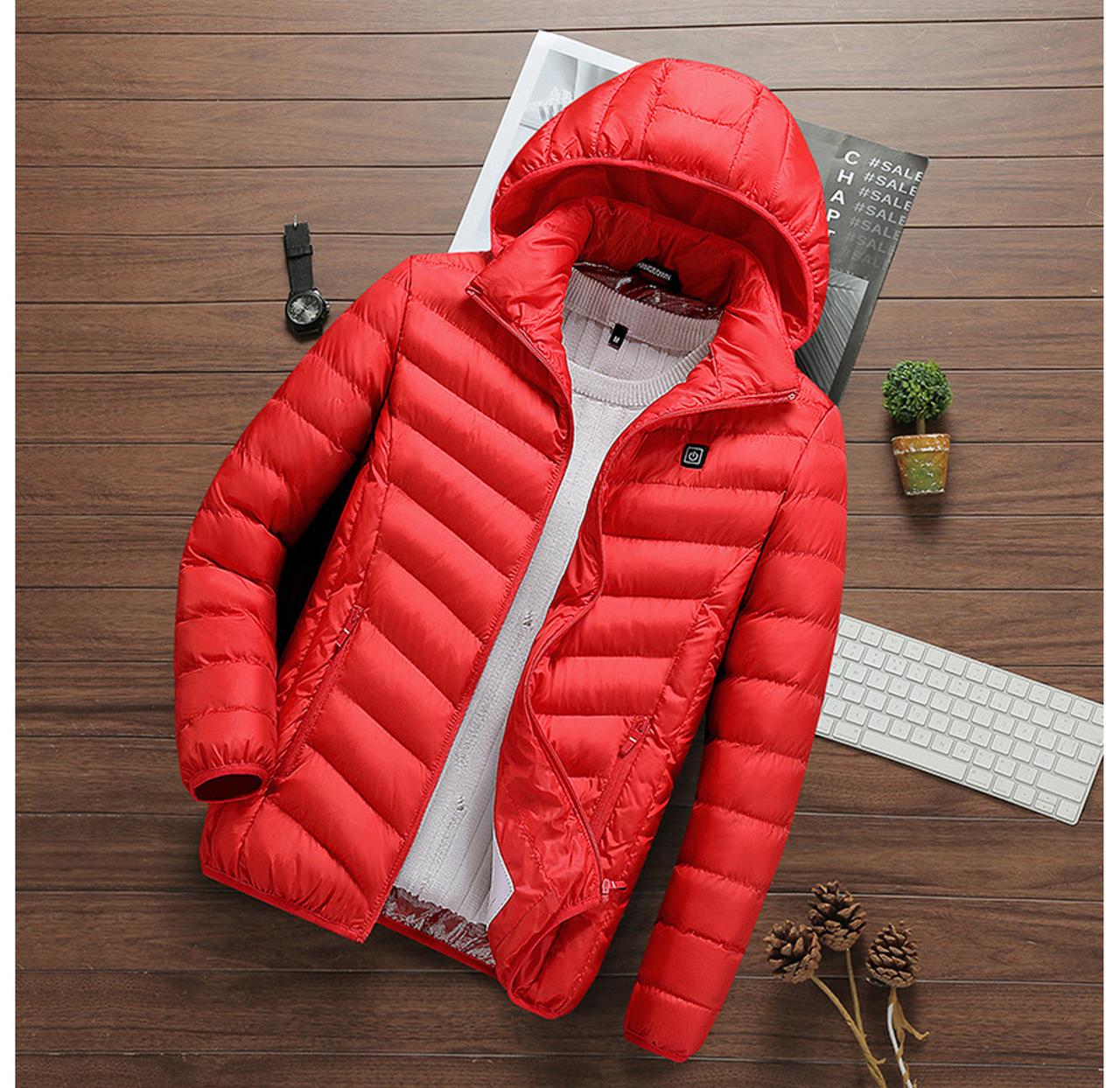Caldo Insulated Heated Puffer Jacket $49.99 (80% OFF)